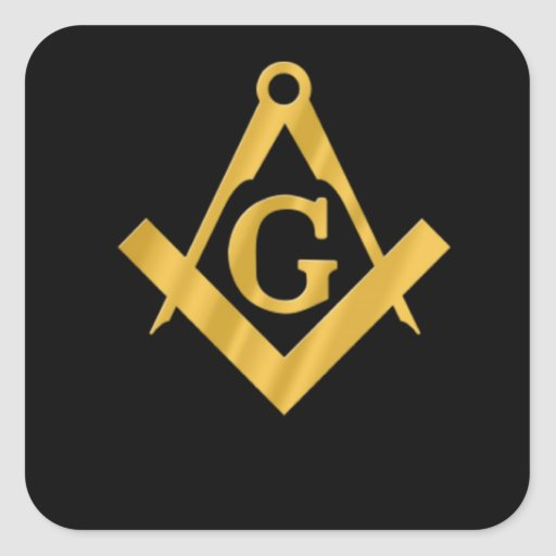 "Masonic ""Mason for Life"" Stickers"