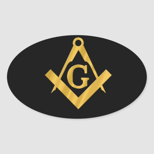 "Masonic ""Mason for Life"" Sticker"