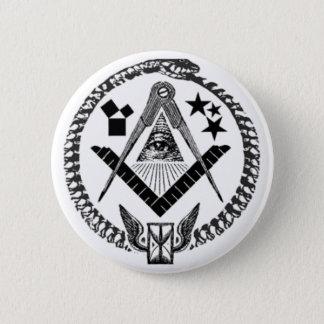 Masonic Memorabilia 2 Inch Round Button
