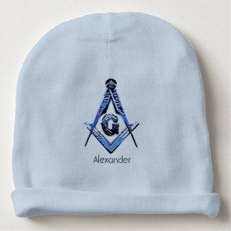 Masonic Minds (Blue) Baby Beanie