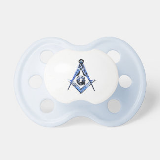 Masonic Minds (Blue) Baby Pacifier