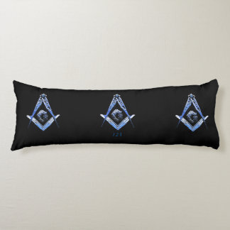 Masonic Minds (Blue) Body Pillow