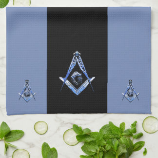 Masonic Minds (Blue) Kitchen Towel