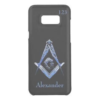 Masonic Minds (Blue) Uncommon Samsung Galaxy S8 Plus Case