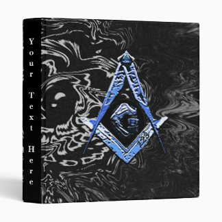 Masonic Minds (BLUESwish) 3 Ring Binder