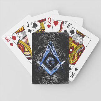 Masonic Minds (BlueSwish) Playing Cards