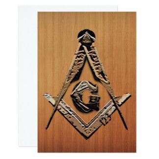 Masonic Minds (Golden) Card
