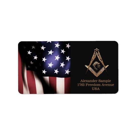 Masonic Minds (Golden) Label