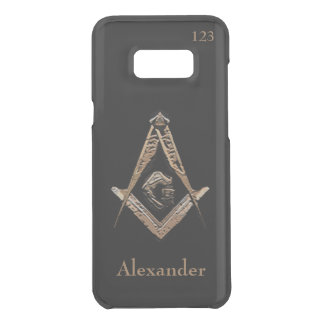 Masonic Minds (Golden) Uncommon Samsung Galaxy S8 Plus Case