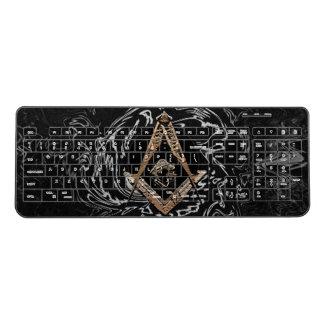 Masonic Minds (GoldenSwish) Wireless Keyboard