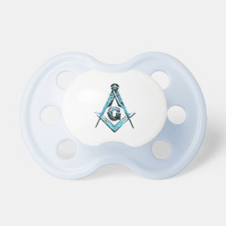 Masonic Minds (Light Blue) Pacifiers