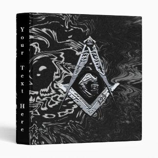 Masonic Minds (SilverySwish) 3 Ring Binder