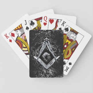Masonic Minds (SilverySwish) Playing Cards