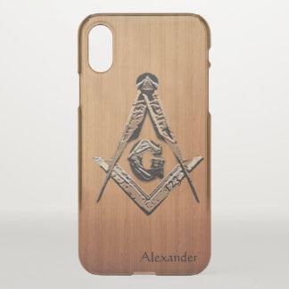 Masonic Minds (Wooded) iPhone X Case