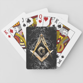 Masonic Minds (YellowSwish) Playing Cards