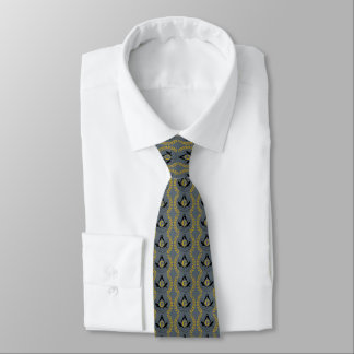 Masonic necktie (printed both sides)