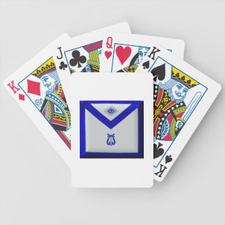 Masonic Organist Bicycle Playing Cards