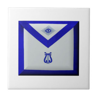 Masonic Organist Ceramic Tile