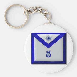 Masonic Organist Keychain