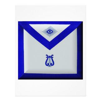 Masonic Organist Letterhead