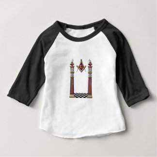 Masonic Pillars Baby T-Shirt