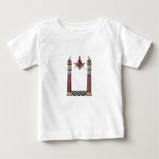 Masonic Pillars Baby T-Shirt