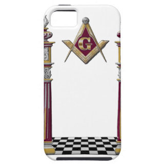 Masonic Pillars Case For The iPhone 5
