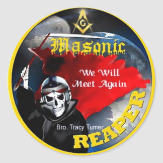 Masonic Reaper Stickers