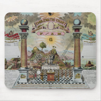 Masonic Record II Mouse Pad