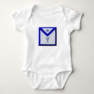 Masonic Secretary Apron Baby Bodysuit