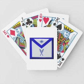 Masonic Secretary Apron Bicycle Playing Cards