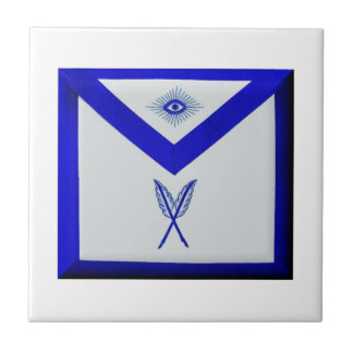 Masonic Secretary Apron Ceramic Tiles