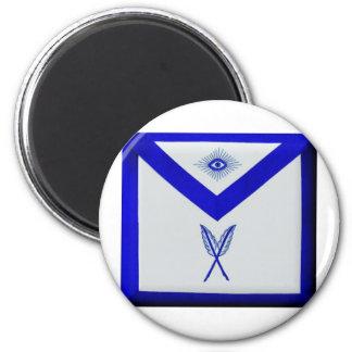 Masonic Secretary Apron Magnet