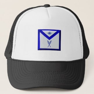Masonic Secretary Apron Trucker Hat
