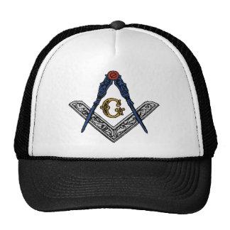Masonic Square and Compass Trucker Hat