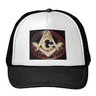 Masonic Square and Compass working tools Trucker Hat