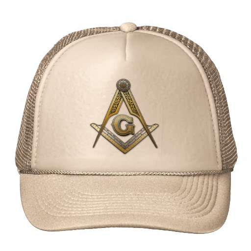 Masonic Square and Compasses Trucker Hats
