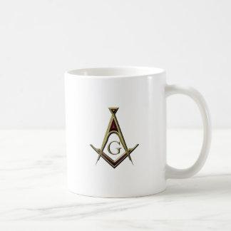 Masonic Square & Compass Coffee Mug