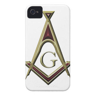 Masonic Square & Compass iPhone 4 Case-Mate Case