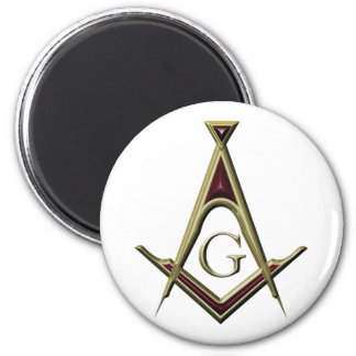 Masonic Square & Compass Magnet