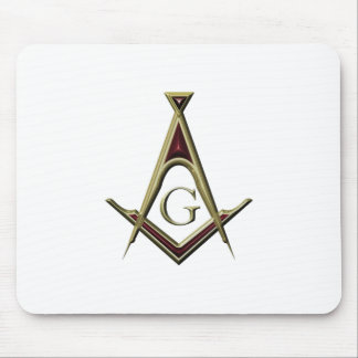 Masonic Square & Compass Mouse Pad