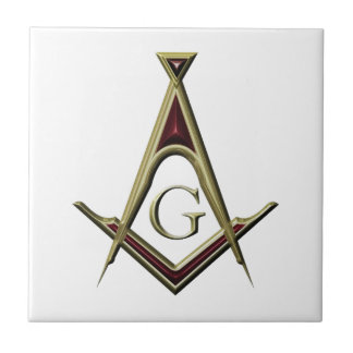 Masonic Square & Compass Tiles