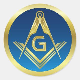 Masonic Stickers   Freemason Square and Compass