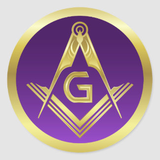Masonic Stickers | Freemasonry Square and Compass
