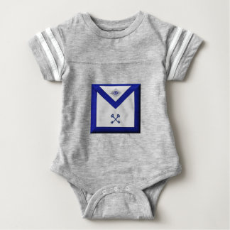 Masonic Treasurer Apron Baby Bodysuit
