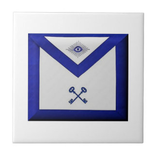 Masonic Treasurer Apron Ceramic Tiles