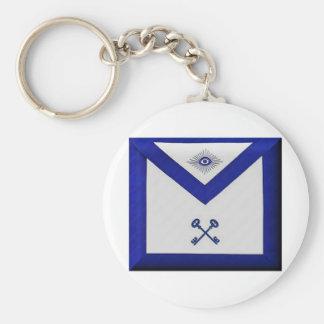 Masonic Treasurer Apron Keychain