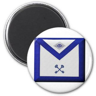 Masonic Treasurer Apron Magnet
