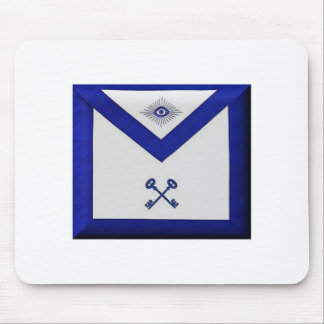 Masonic Treasurer Apron Mouse Pad