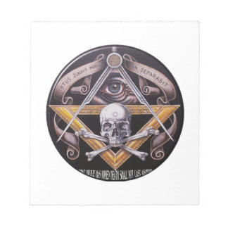 Masonic Virtue Notepad